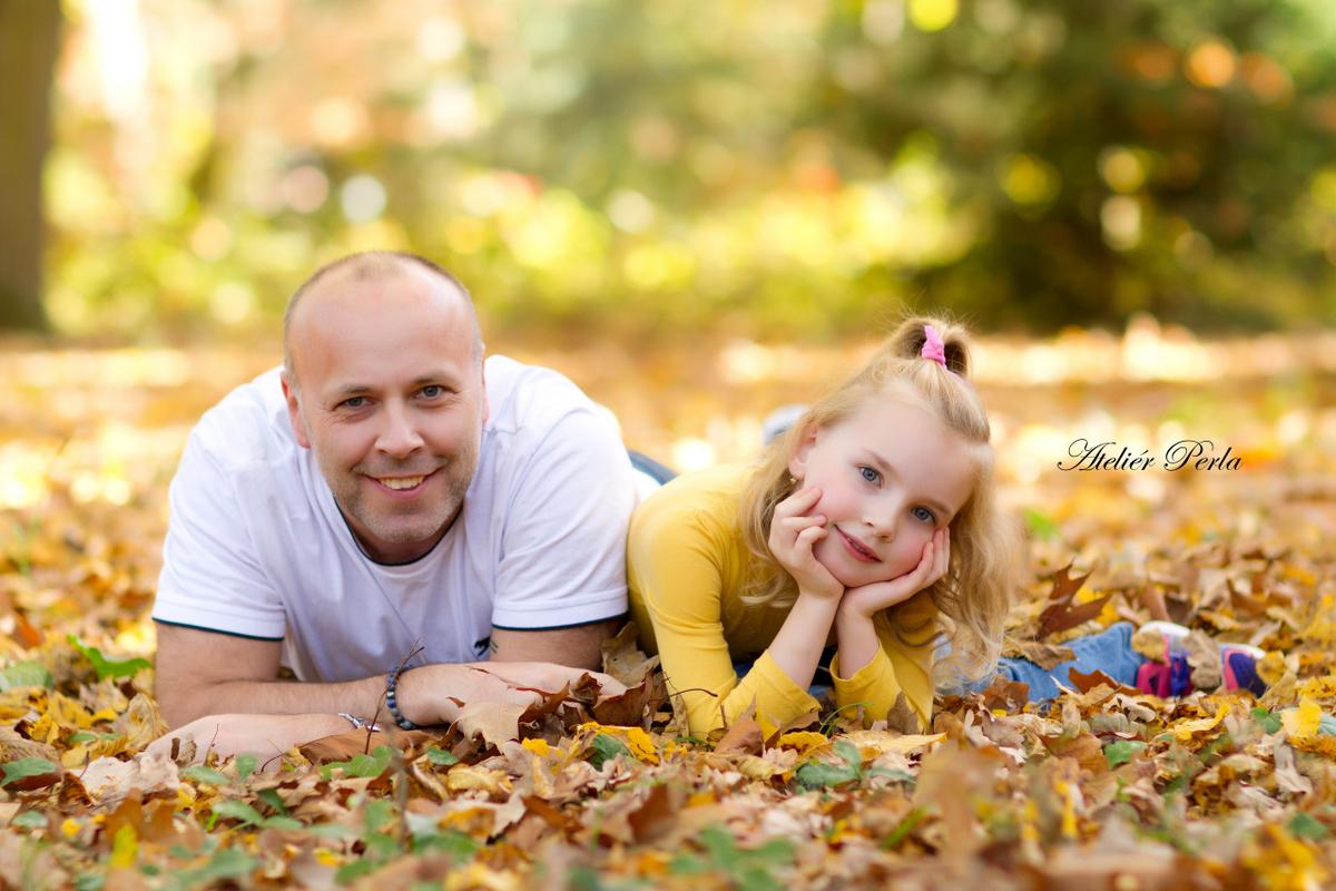 Podzimní focení v listí, Podzimní focení