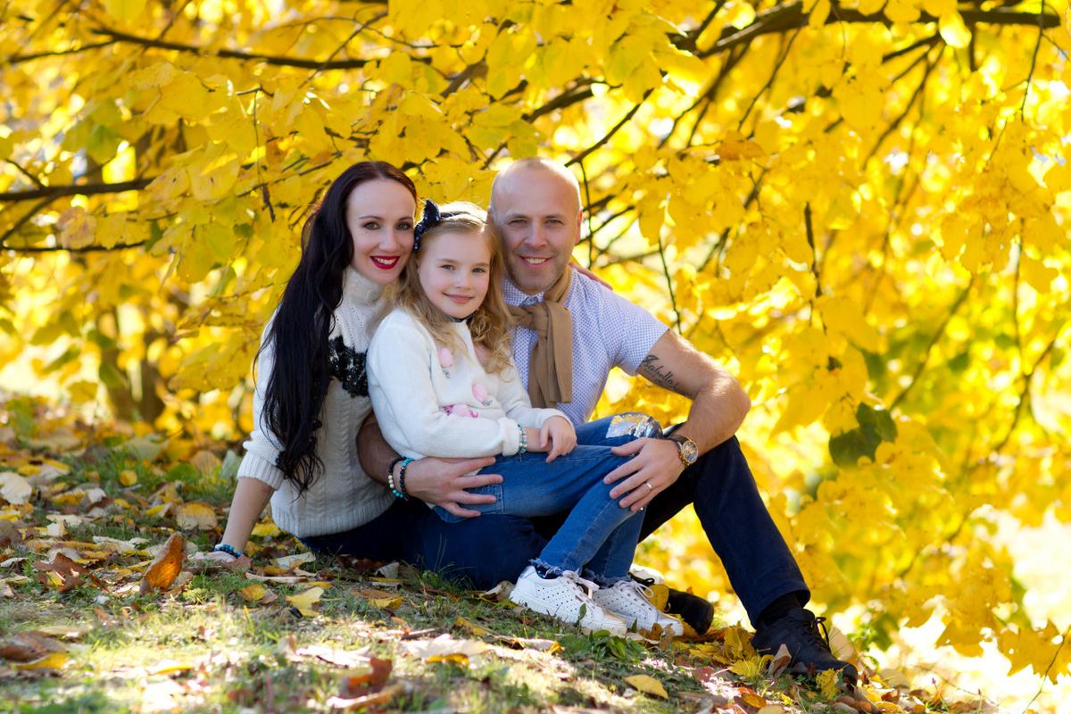 Rodinné focení venku, Rodinné focení v přírodě