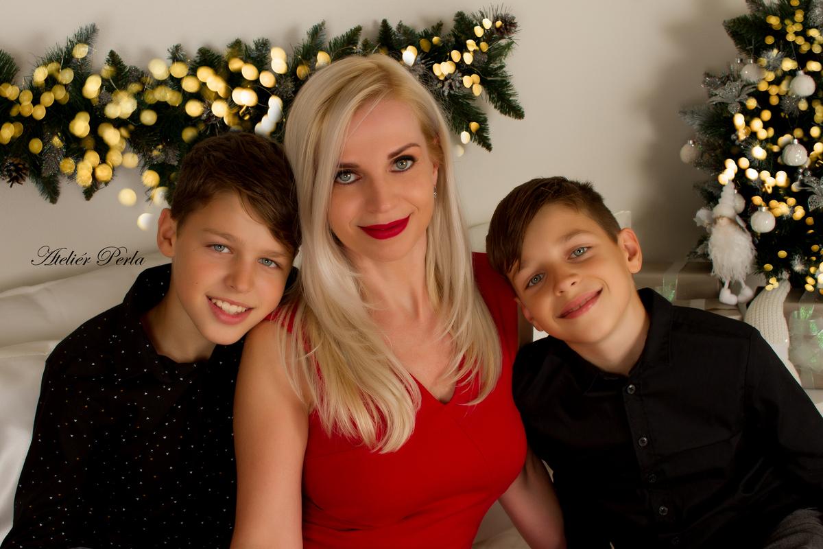 Vánoční rodinné focení, Vánoční rodinné focení